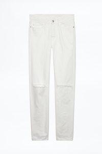 Jeans Davida White