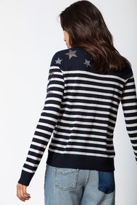 Miss Cashmere Strass Sweater