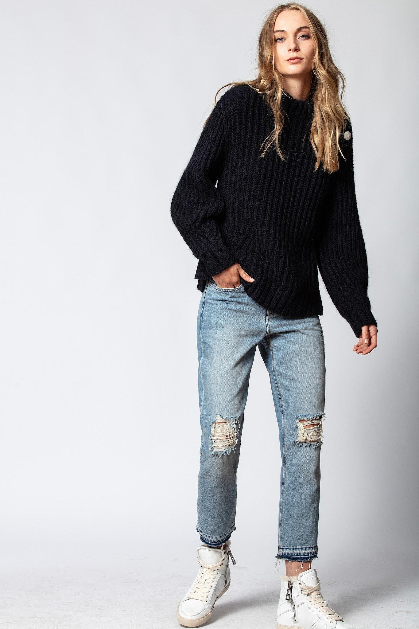 Marlon Awa Sweater