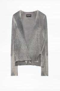 Dallas Twist Cachemire Cardigan