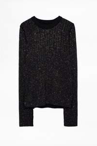 Pull Ace Strass Cachemire