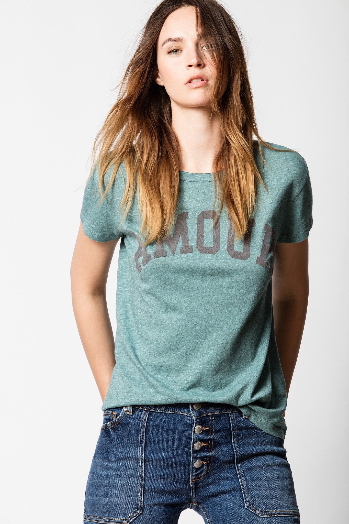 T-shirt Walk Amour