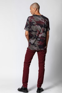 T-Shirt Tommy Leinen Camou