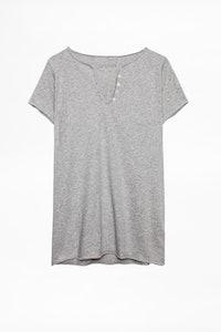 Girls Tunisian Collar T-shirt