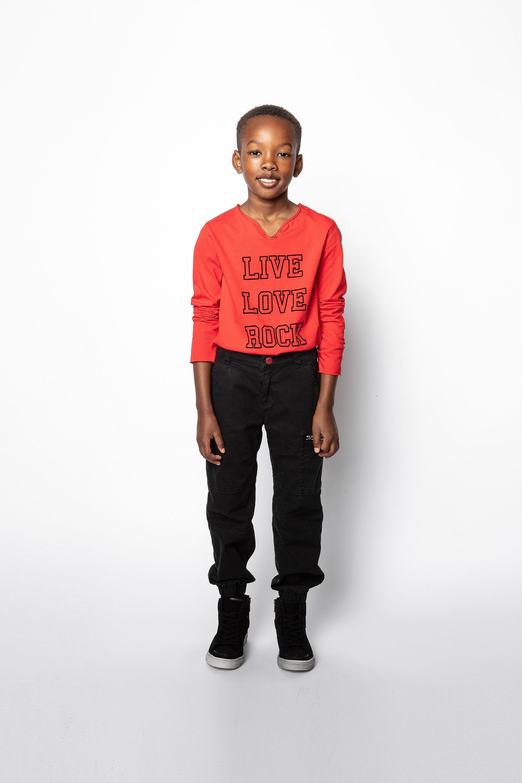 Camiseta Boxer Infantil