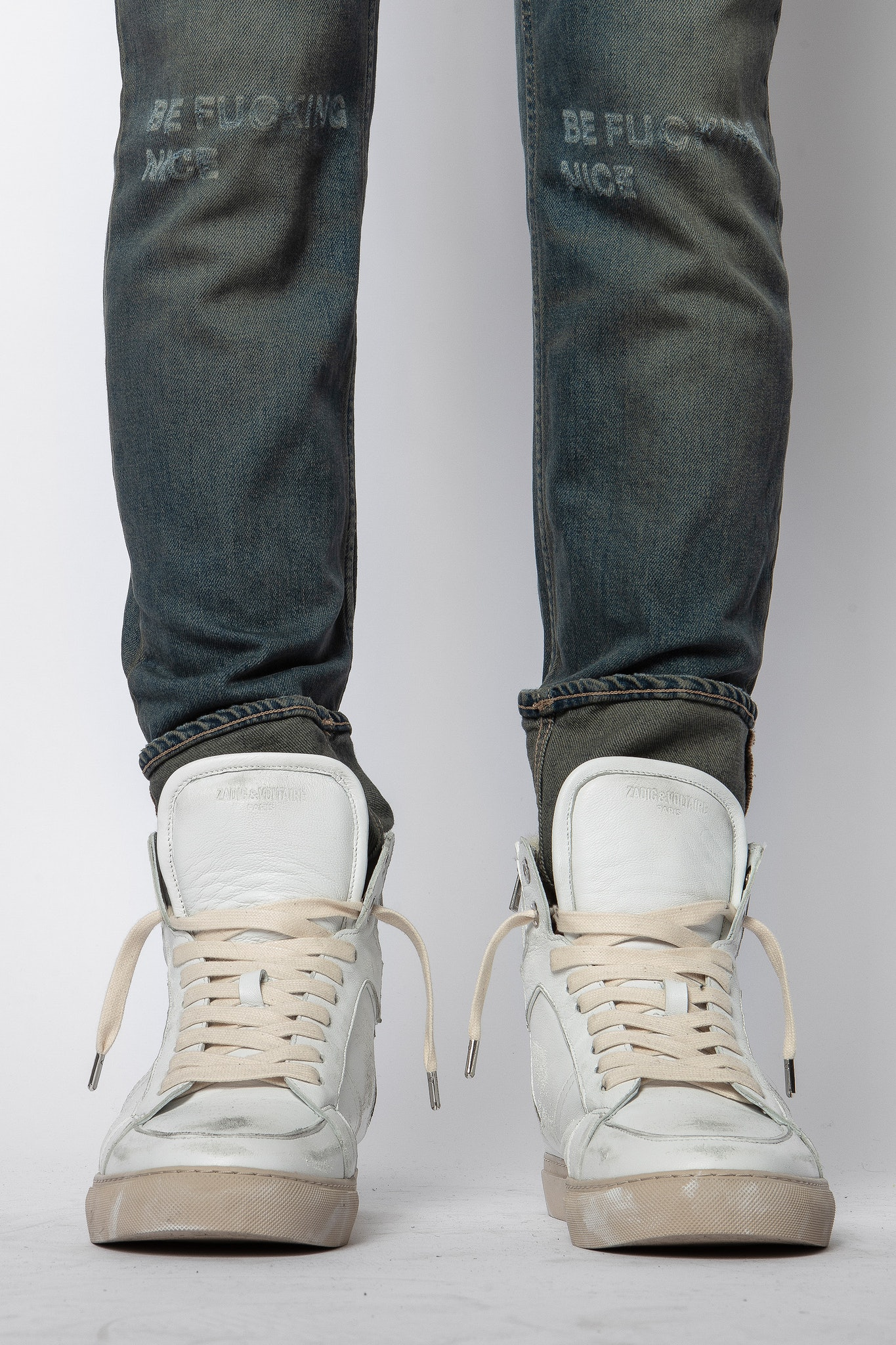 Sneakers ZV1747 High Flash Used + Shearling