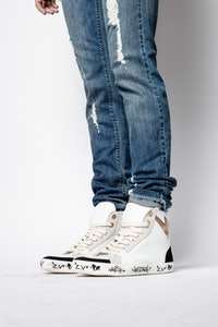 Zadig Used High Flash Jormi Sneakers ZV1747