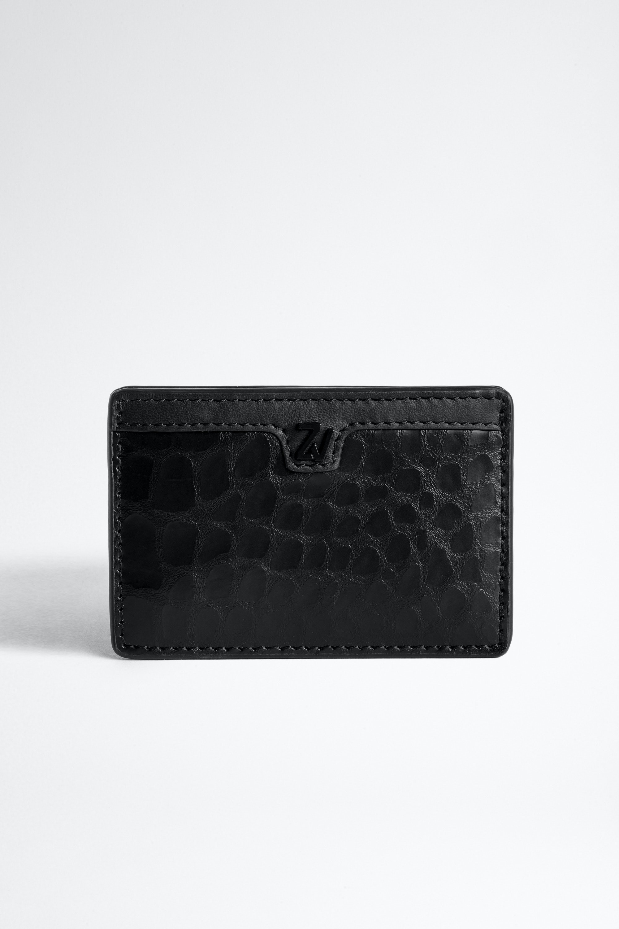 ZV Initiale Nyro Croco Card Holder