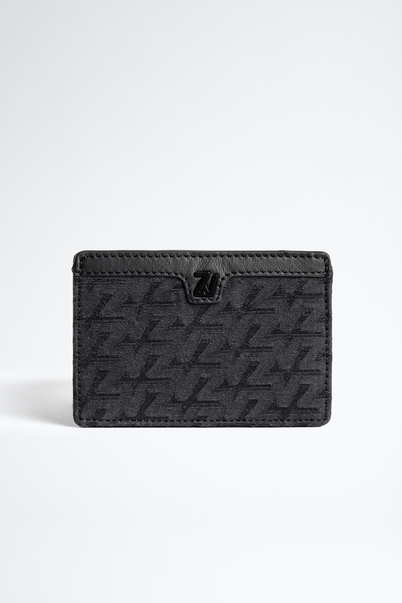ZV Initiale Nyro Monogram Card Holder