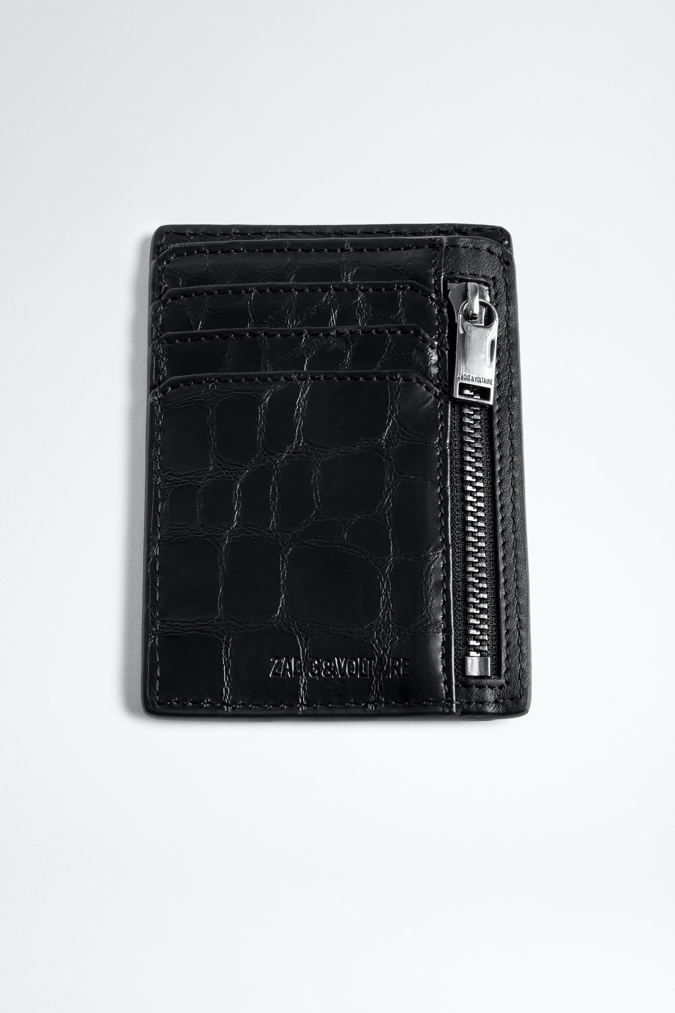 ZV Initiale Niels Croco Card Holder