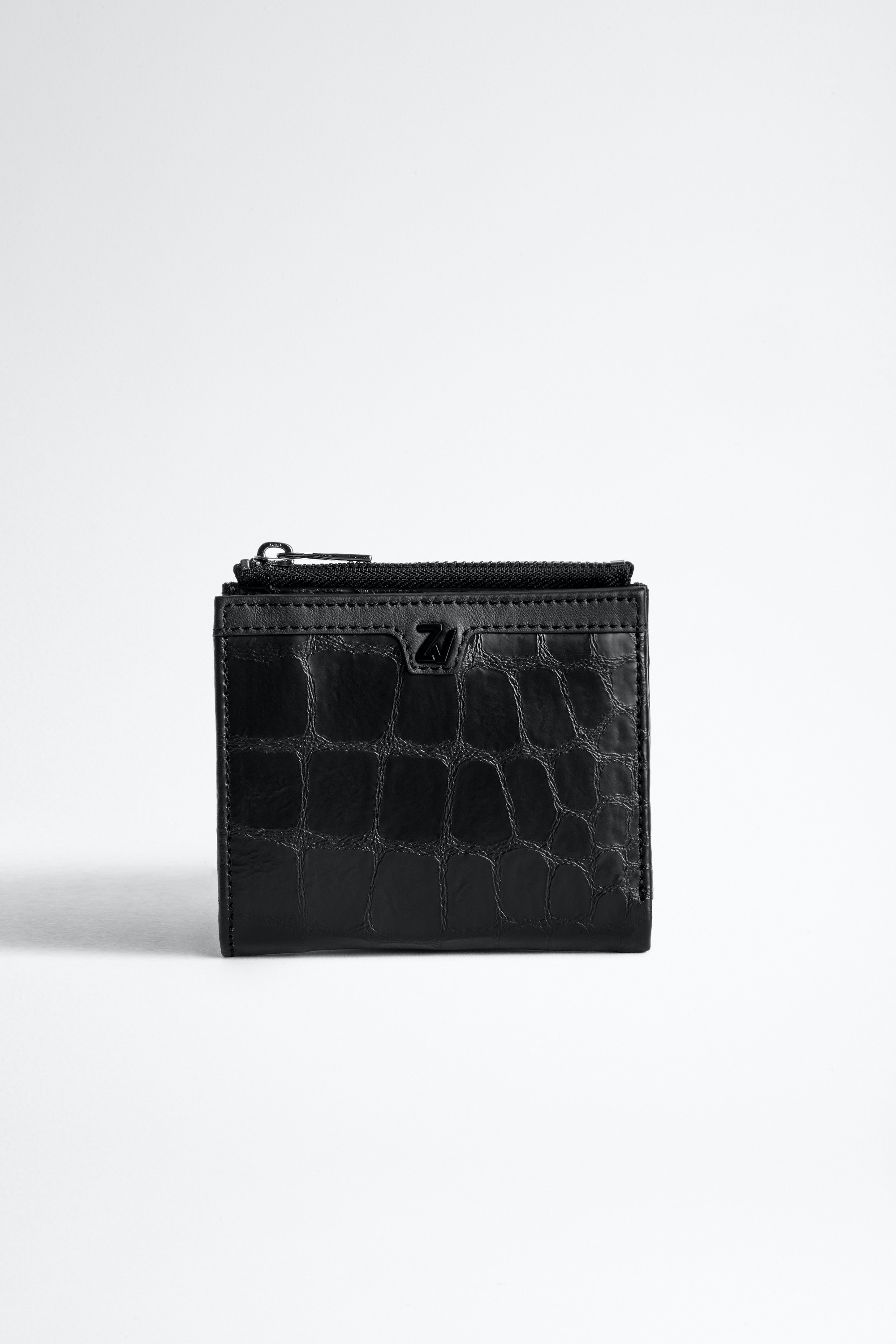 ZV Initiale Noam Croco Card Holder