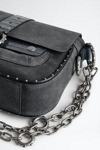 Kate Suede Croco Bag