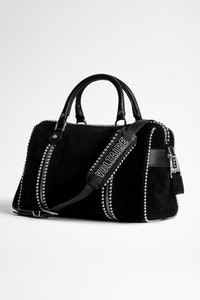 Sunny Medium Suede Studs Bag