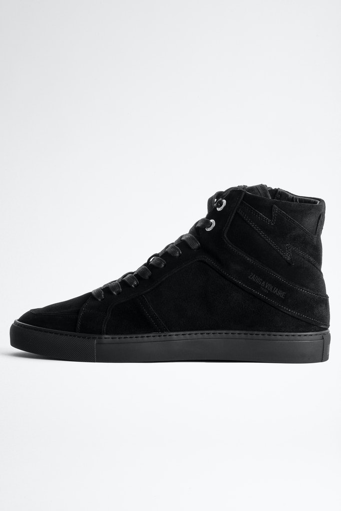 ZV1747 High Flash Suede Sneakers