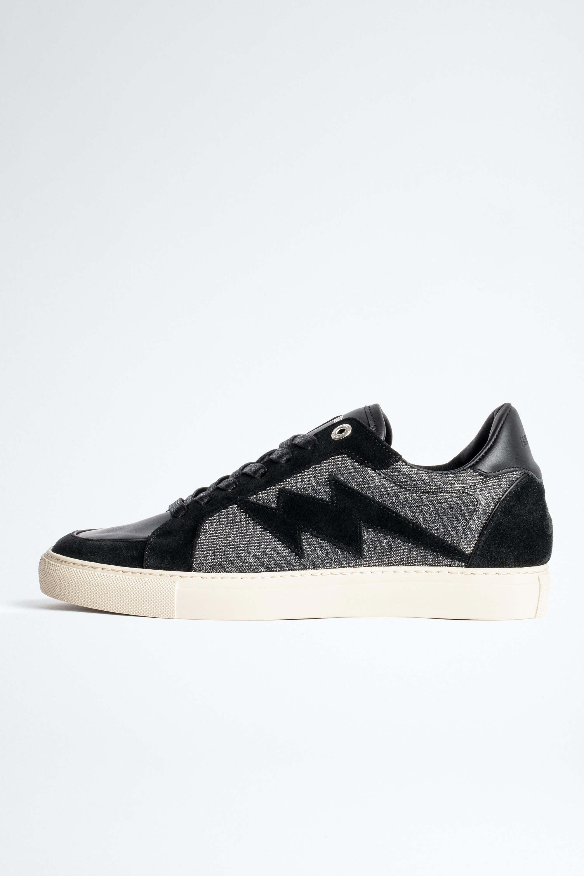 ZV1747 Board Sparkle Suede Sneakers