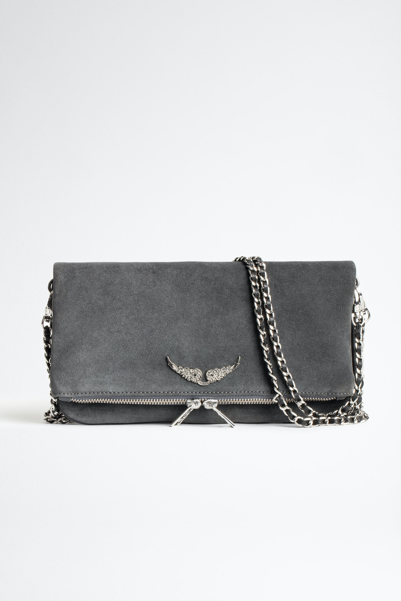 Rock Suede Clutch