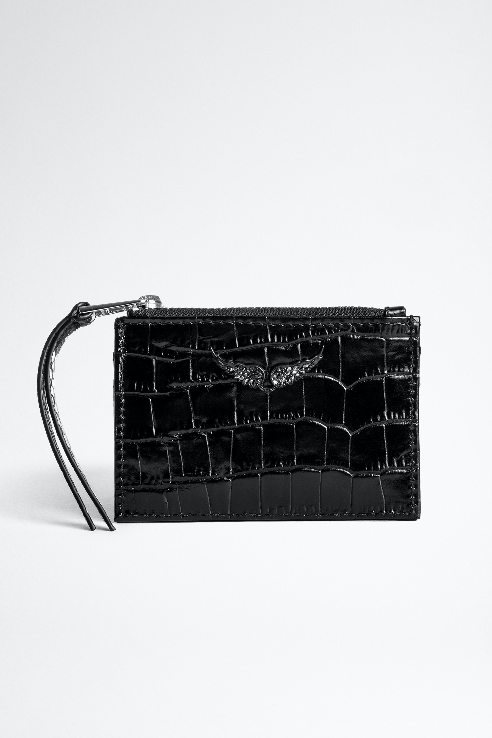 ZV Pass Croco Card Holder
