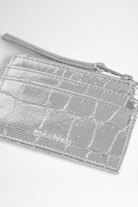 ZV Pass Croco Card Holder