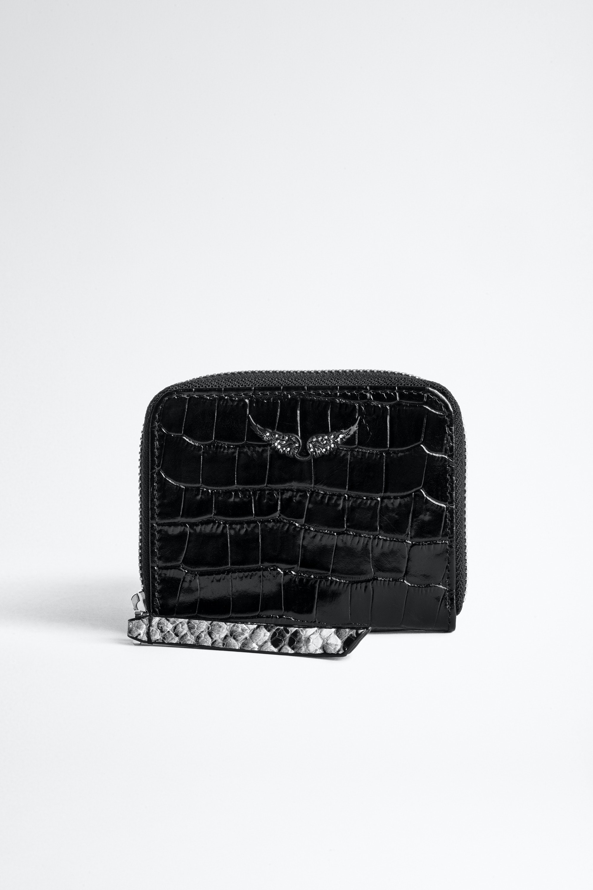 Cartera Mini ZV Croco