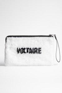 Uma Fluffy Voltaire Clutch