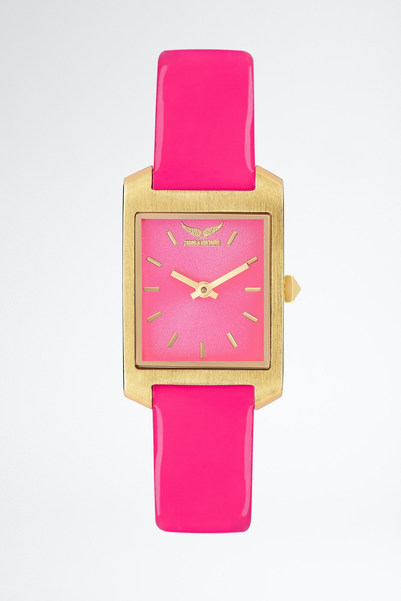 Timeline Cuir Vernis Watch