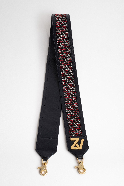 ZV Initiale La Strap Monogram Shoulder Strap
