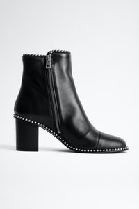 Bottines Lena Round Piping