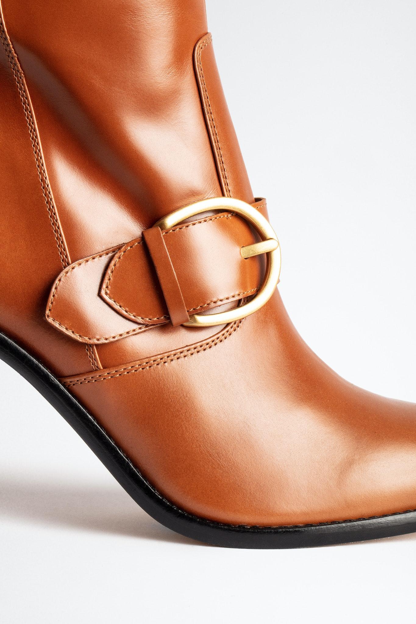 Preiser Buckle Vintage Boots