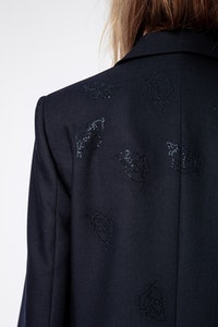 Venus Strass Leaf Jacket