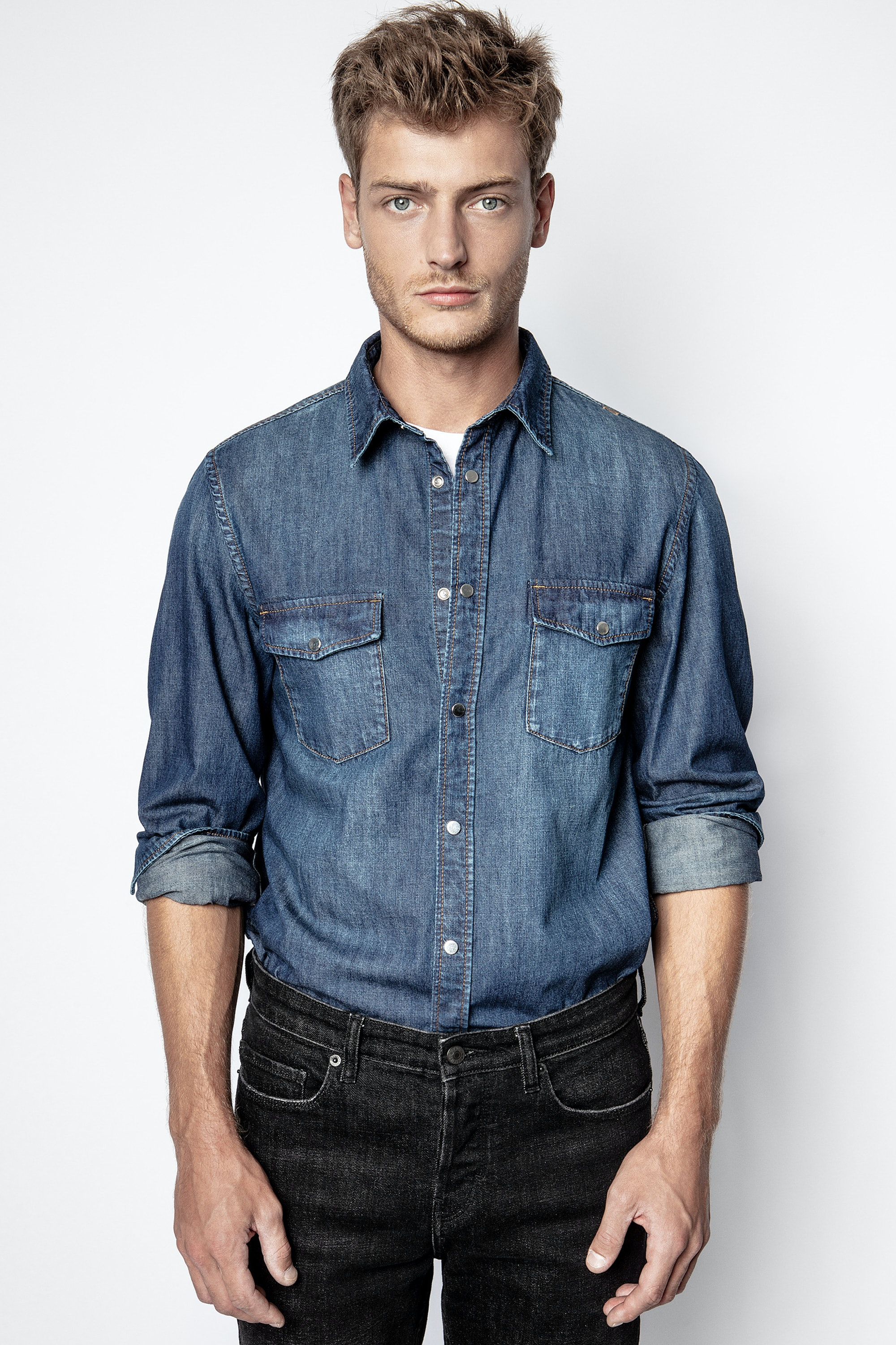 Stan Denim Photoprint Shirt