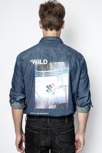 Chemise Stan Denim Photoprint