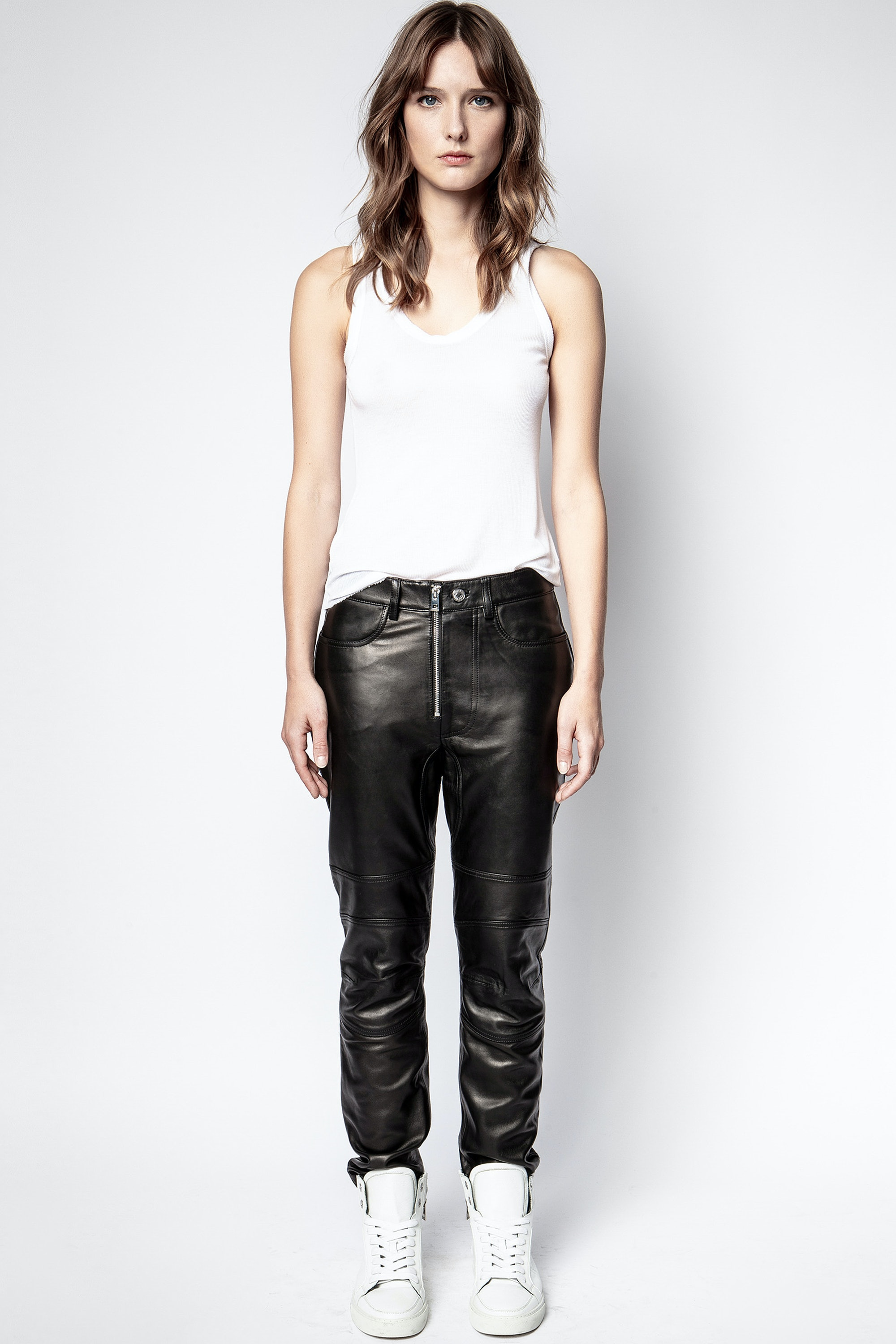 Punk Cuir Pants