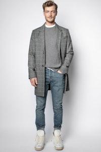 Marlo Check Coat