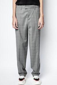 Peter Check Pants