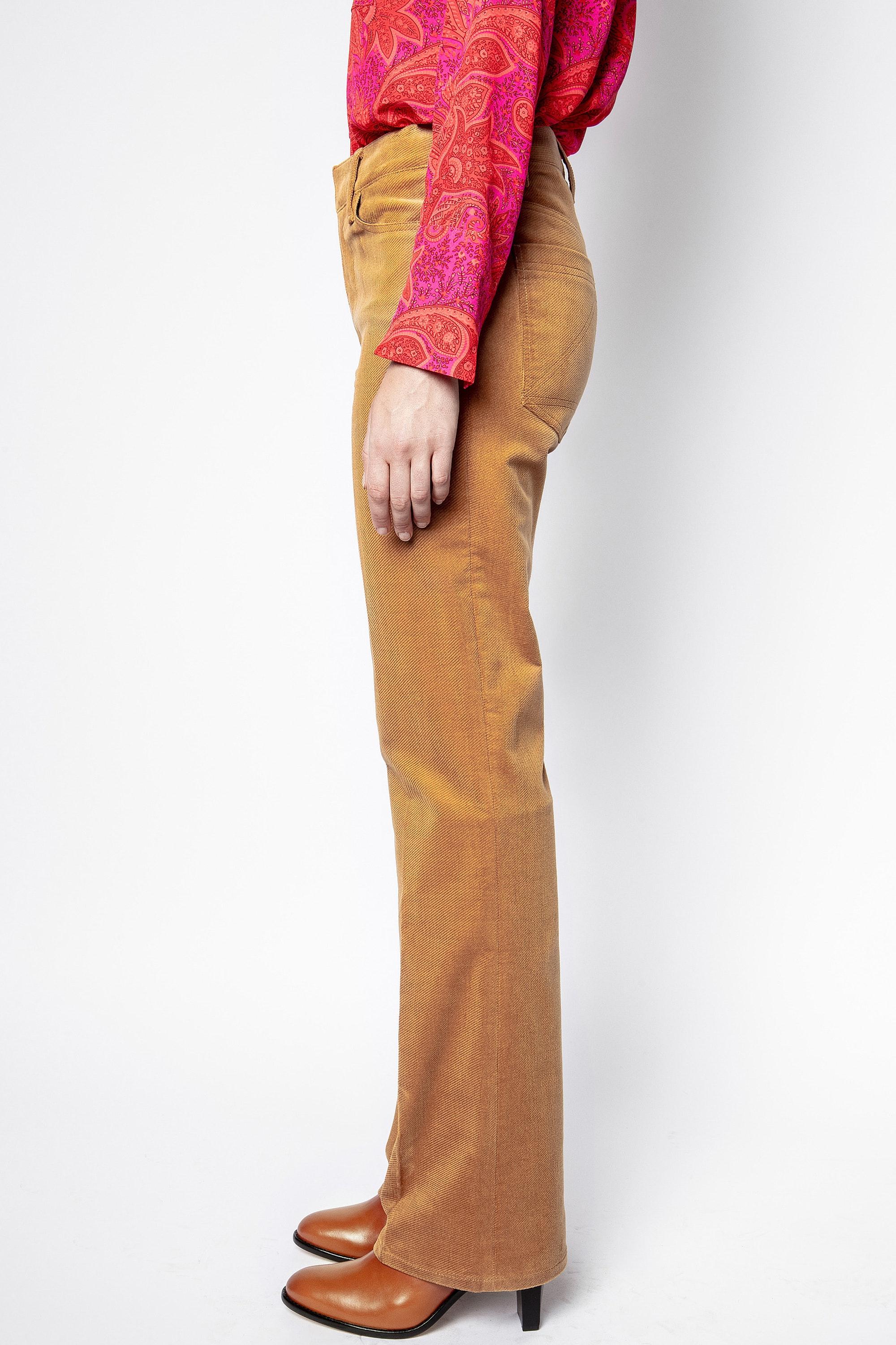 Pistol Velvet Used Pants Pants Women Zadig Voltaire