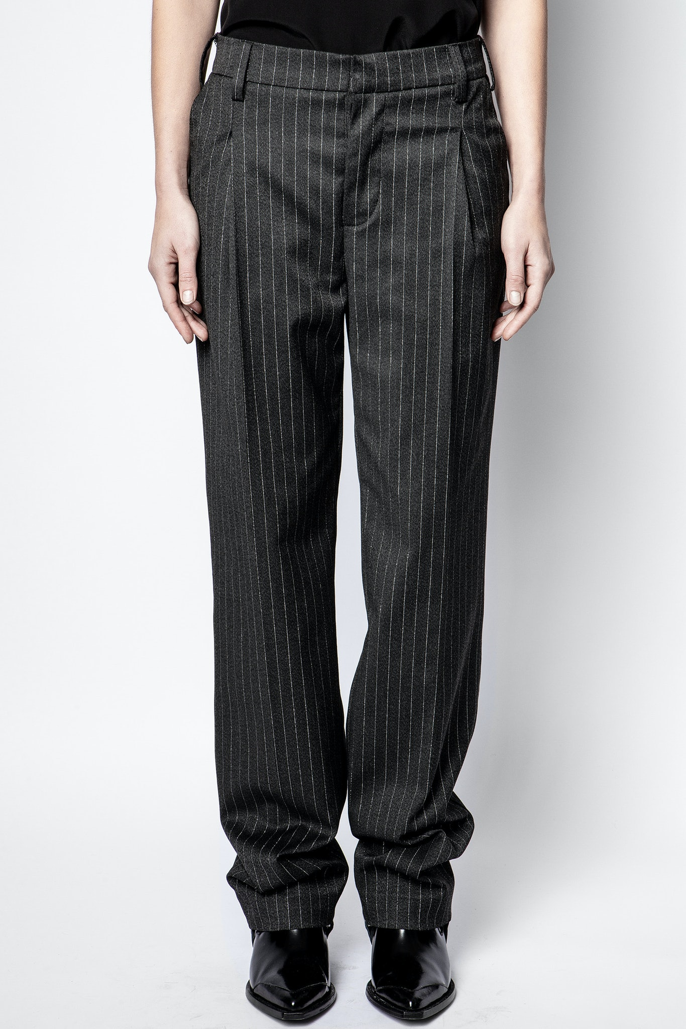 Profil Pinstripe Strass Pants