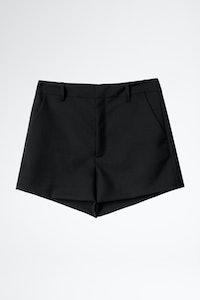 Pink Smocking Shorts
