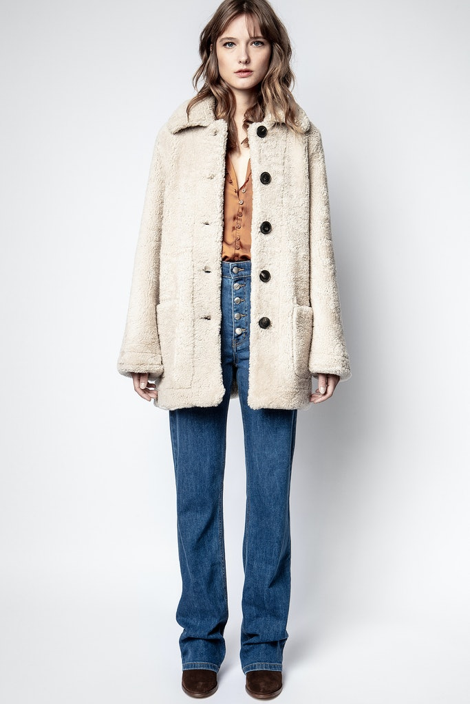 Magdas Shearling Coat