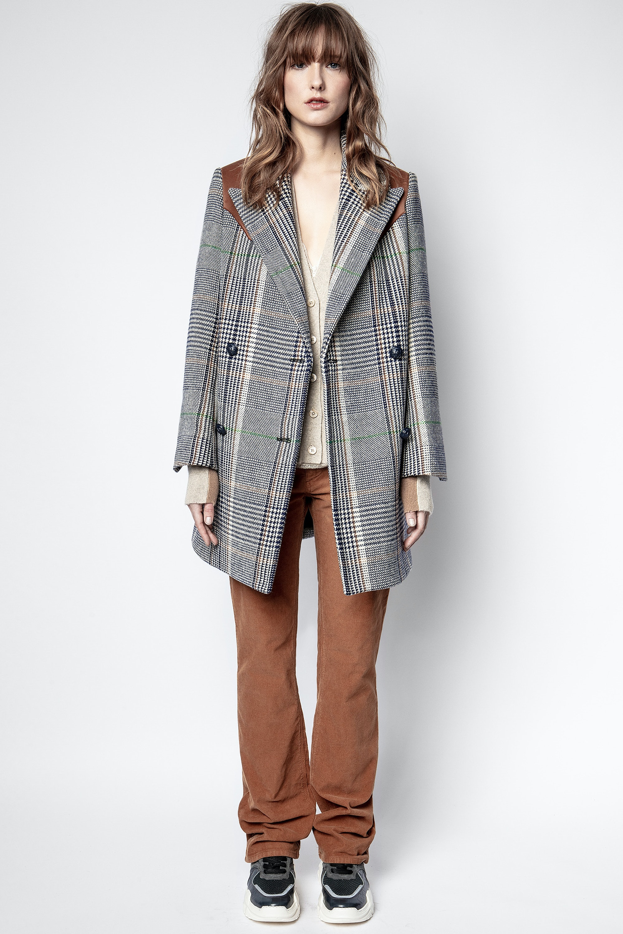 Manteau Motty Carreaux