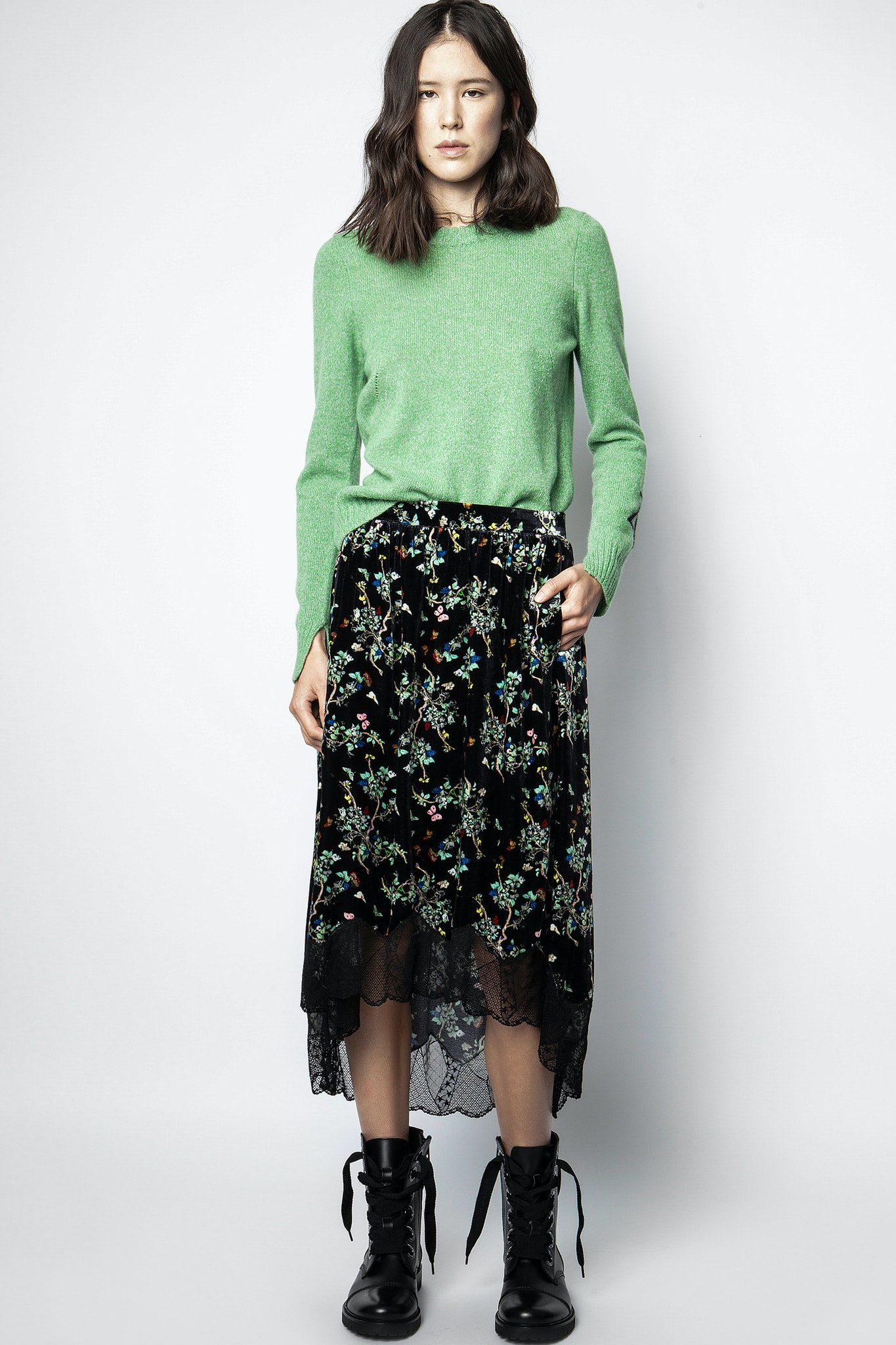 Joslin Velvet Blossom Skirt