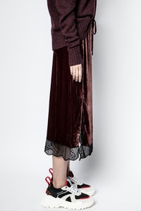 Falda Jillian Velvet