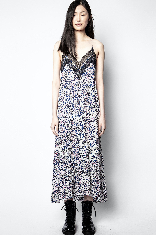 Kleid Revel Print Begonia