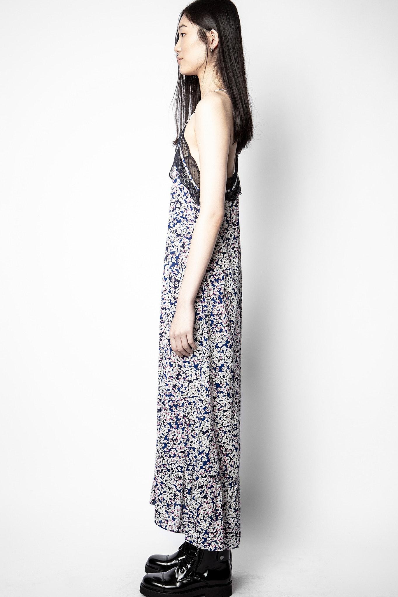 Revel Print Begonia Dress