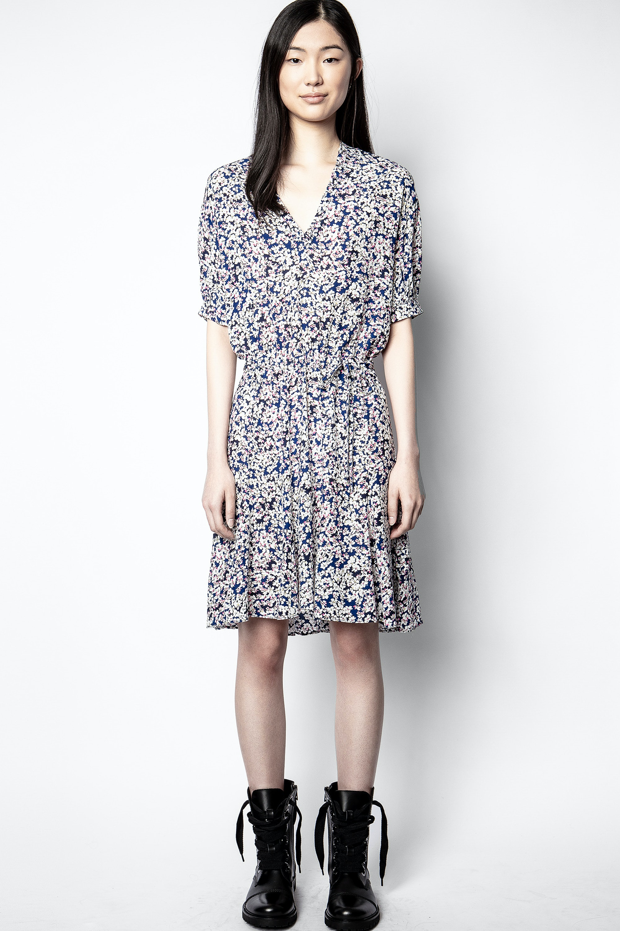 Remove Print Begonia Dress
