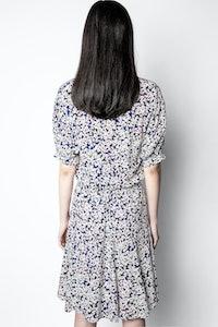 Remove Print Begonia Dress