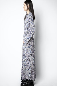 Vestido Relic Print Begonia