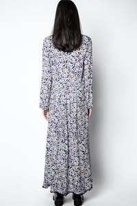 Robe Relic Print Begonia