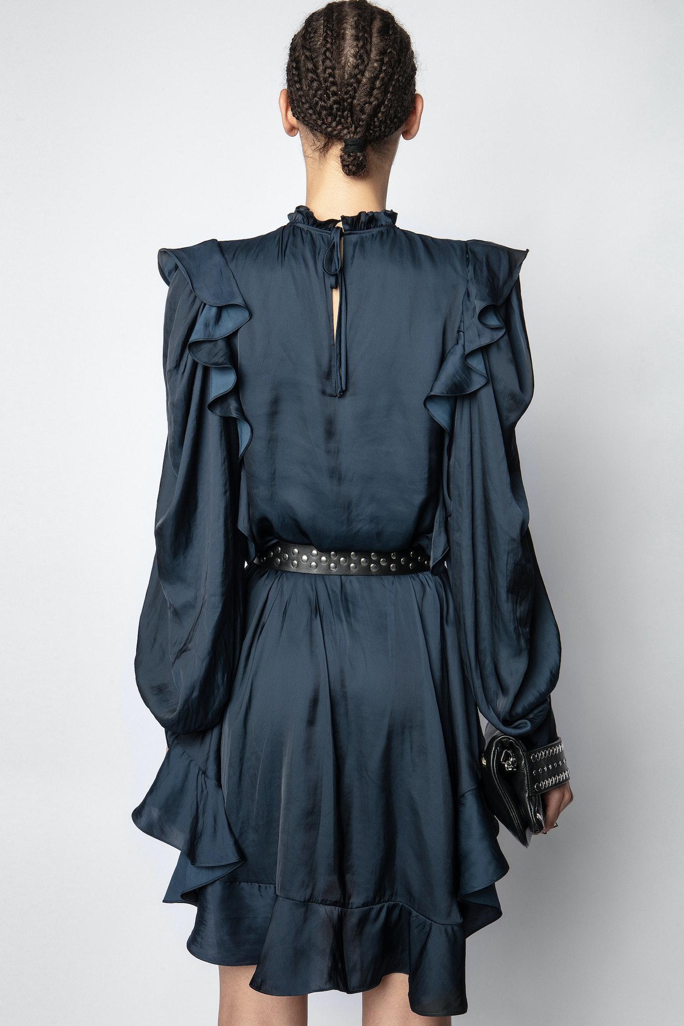 Ruins Satin Dress