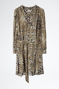 Robe Retouched Satin Leo