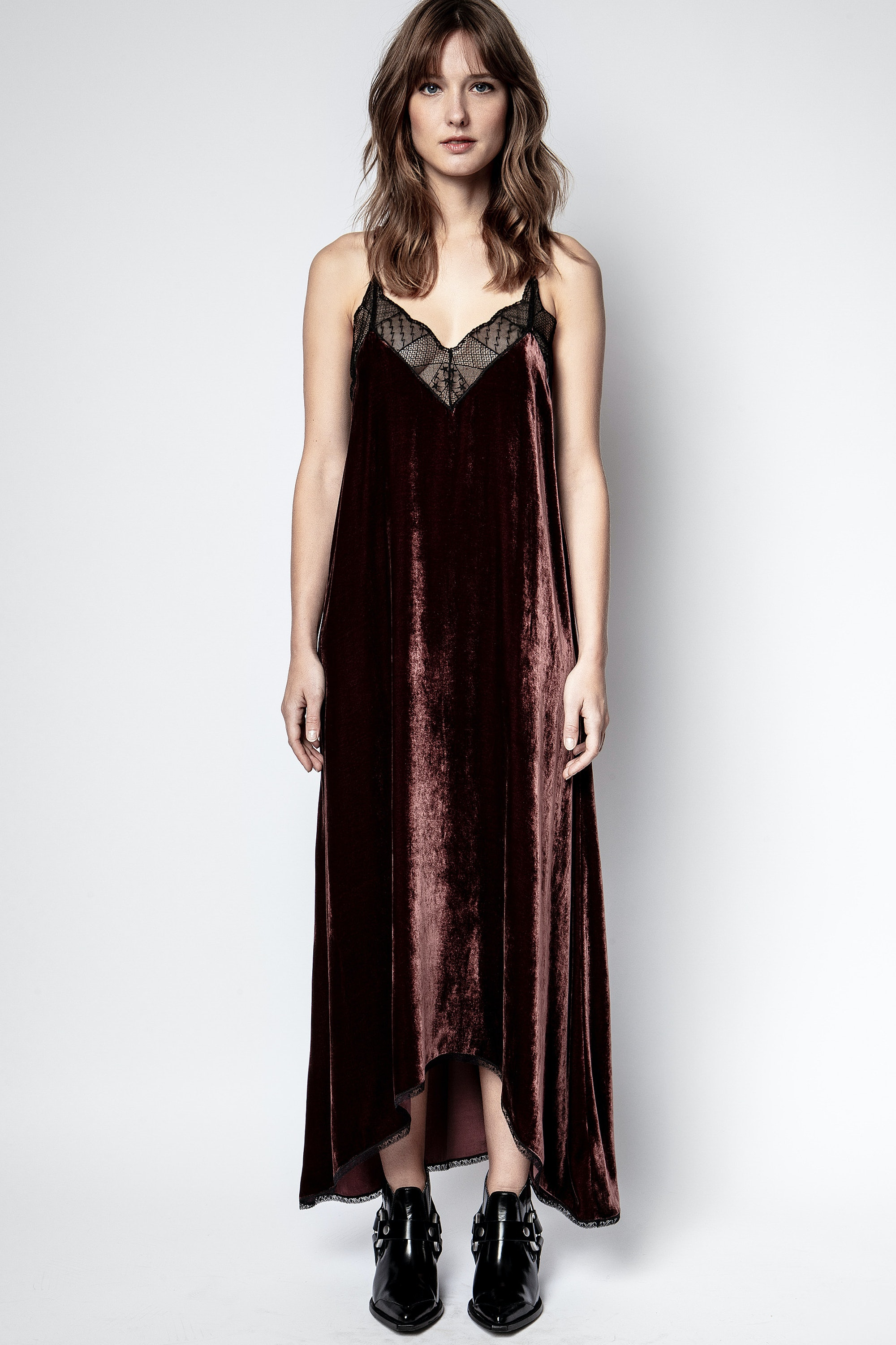 Robe Risty Velvet